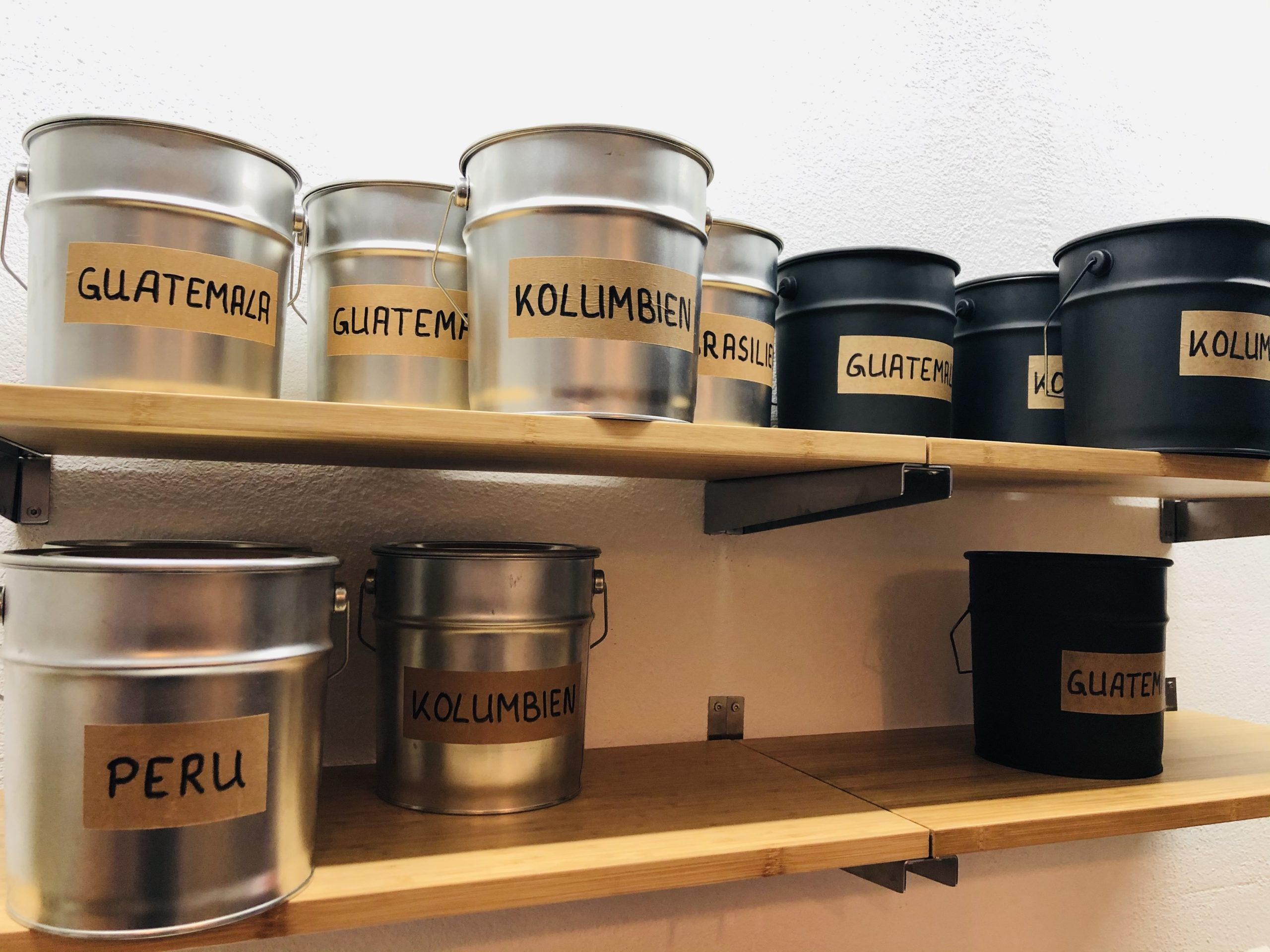 Lagern von Kaffee