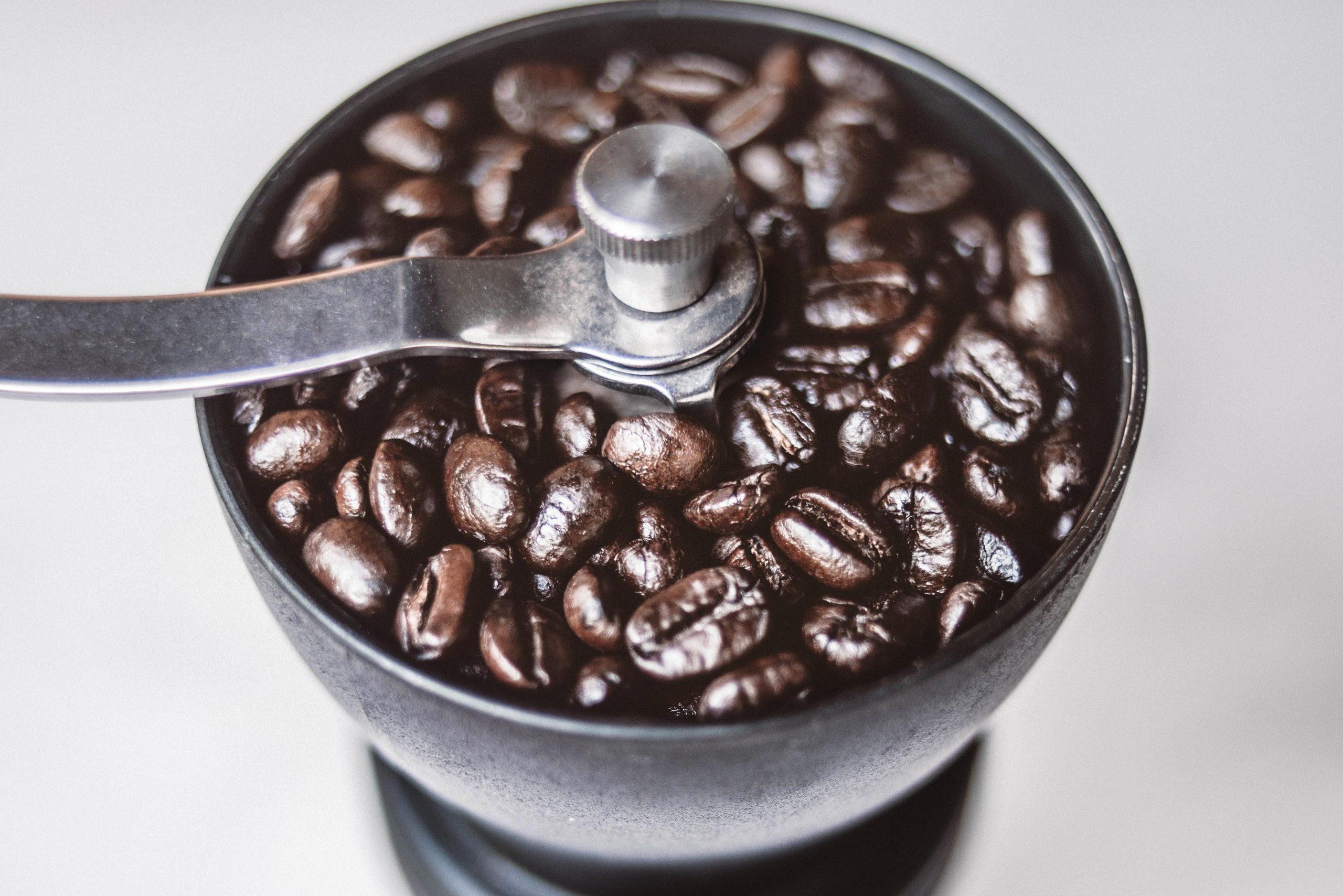 Mahlen von Kaffee